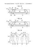 PACKAGE-ON-PACKAGE ASSEMBLY WITH WIRE BONDS TO ENCAPSULATION SURFACE diagram and image