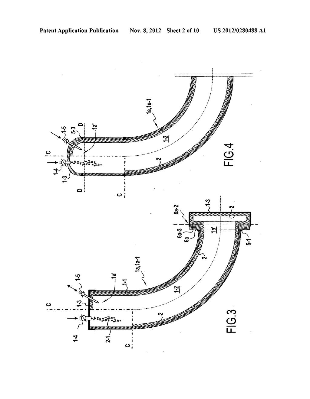 Part for connecting pipes including an internal liner, a covering method,     and a method of assembly - diagram, schematic, and image 03