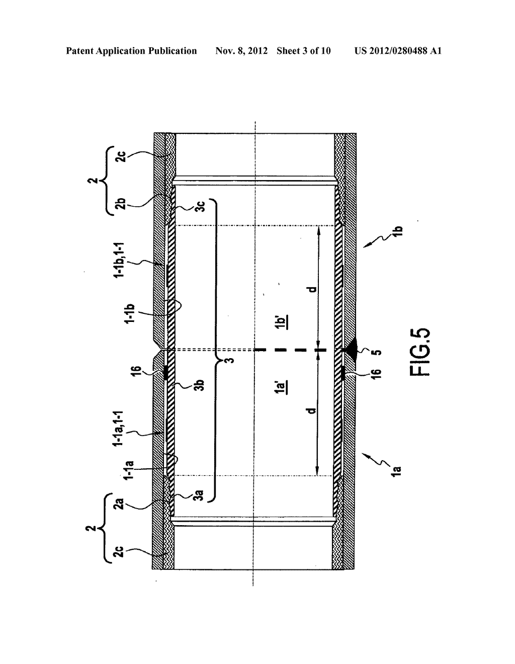 Part for connecting pipes including an internal liner, a covering method,     and a method of assembly - diagram, schematic, and image 04