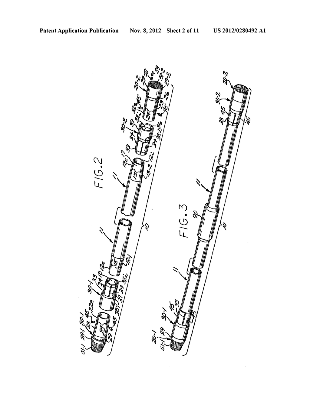 COMPOSITE DRILL PIPE AND METHOD FOR FORMING SAME - diagram, schematic, and image 03