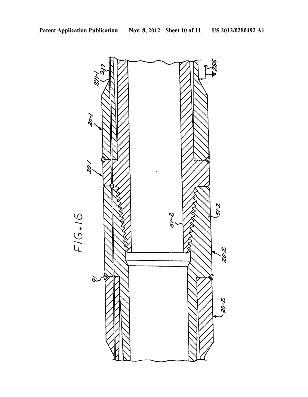 COMPOSITE DRILL PIPE AND METHOD FOR FORMING SAME - diagram, schematic, and image 11