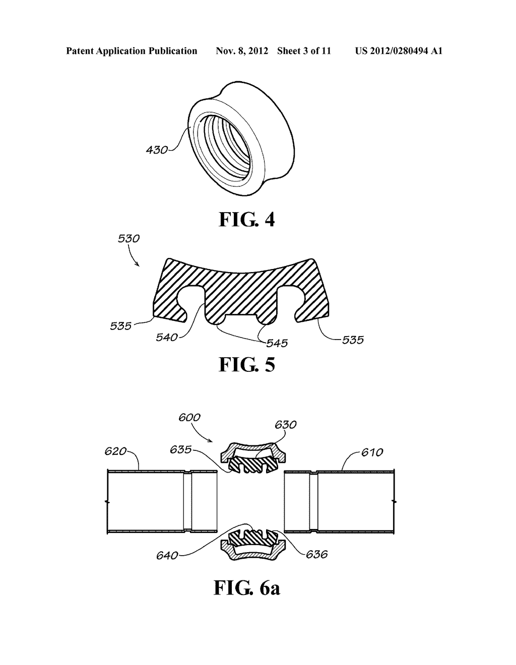 SLIP ON GROOVE COUPLING WITH MULTIPLE SEALING GASKET - diagram, schematic, and image 04