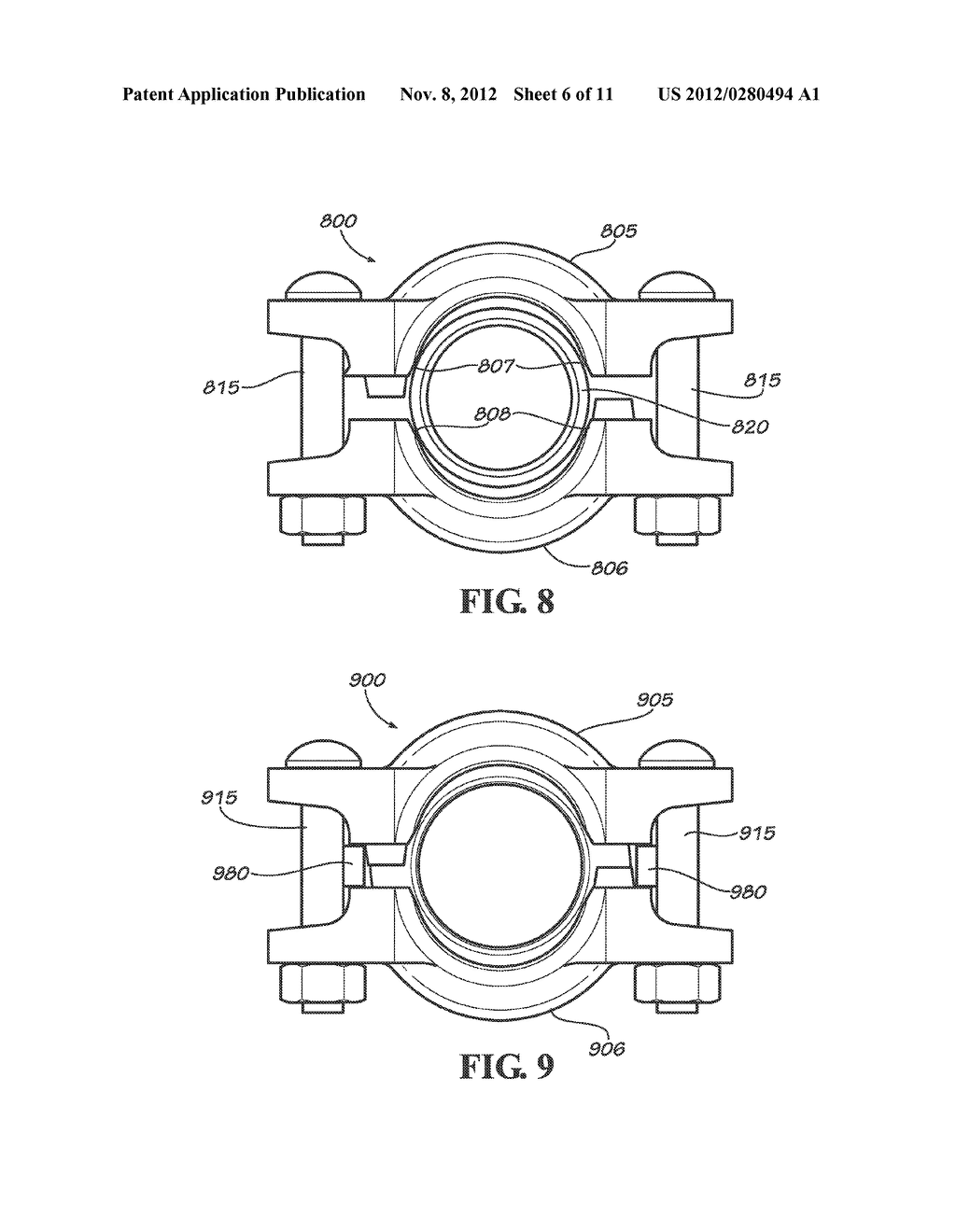 SLIP ON GROOVE COUPLING WITH MULTIPLE SEALING GASKET - diagram, schematic, and image 07