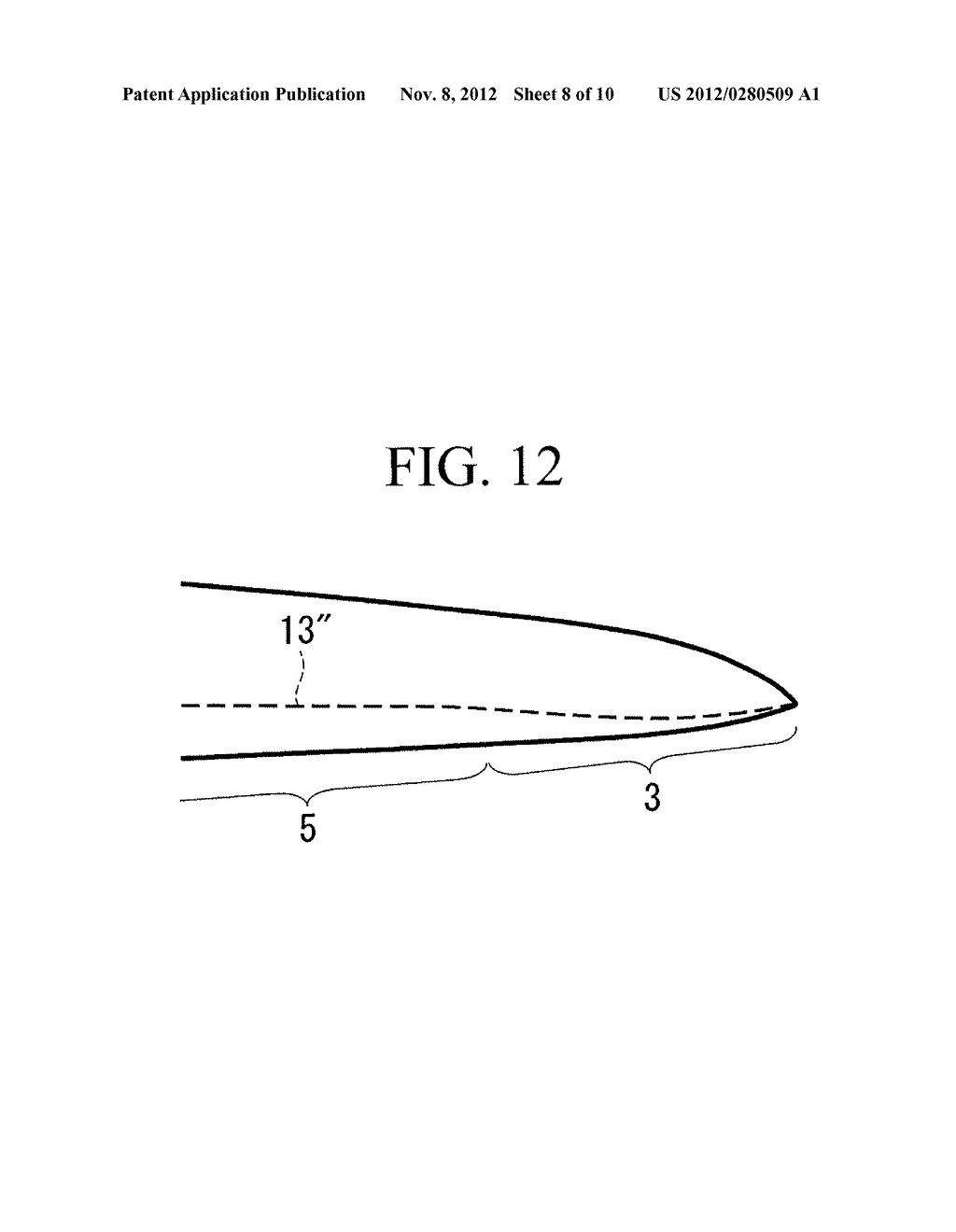 WIND TURBINE BLADE AND WIND TURBINE GENERATOR INCLUDING THE SAME - diagram, schematic, and image 09