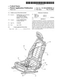 VEHICLE SEAT FOLD MECHANISM diagram and image