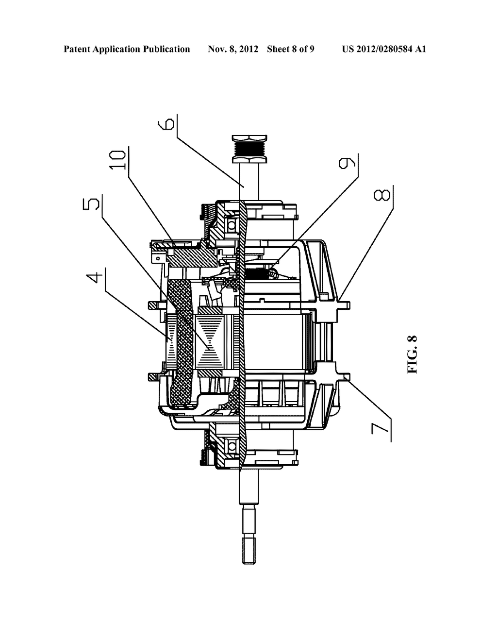 CENTRIFUGAL SWITCH ACTUATOR AND MOTOR COMPRISING THE SAME - diagram, schematic, and image 09