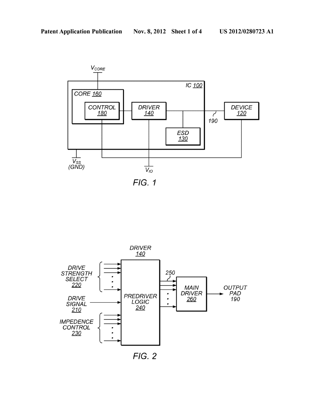 Driver with Impedance Control - diagram, schematic, and image 02