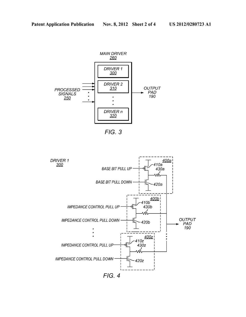 Driver with Impedance Control - diagram, schematic, and image 03