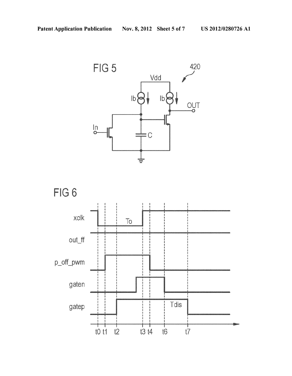 CONTROL CIRCUIT ARRANGEMENT FOR PULSE-WIDTH MODULATED DC/DC CONVERTERS AND     METHOD FOR CONTROLLING A PULSE-WIDTH MODULATED CONVERTER - diagram, schematic, and image 06