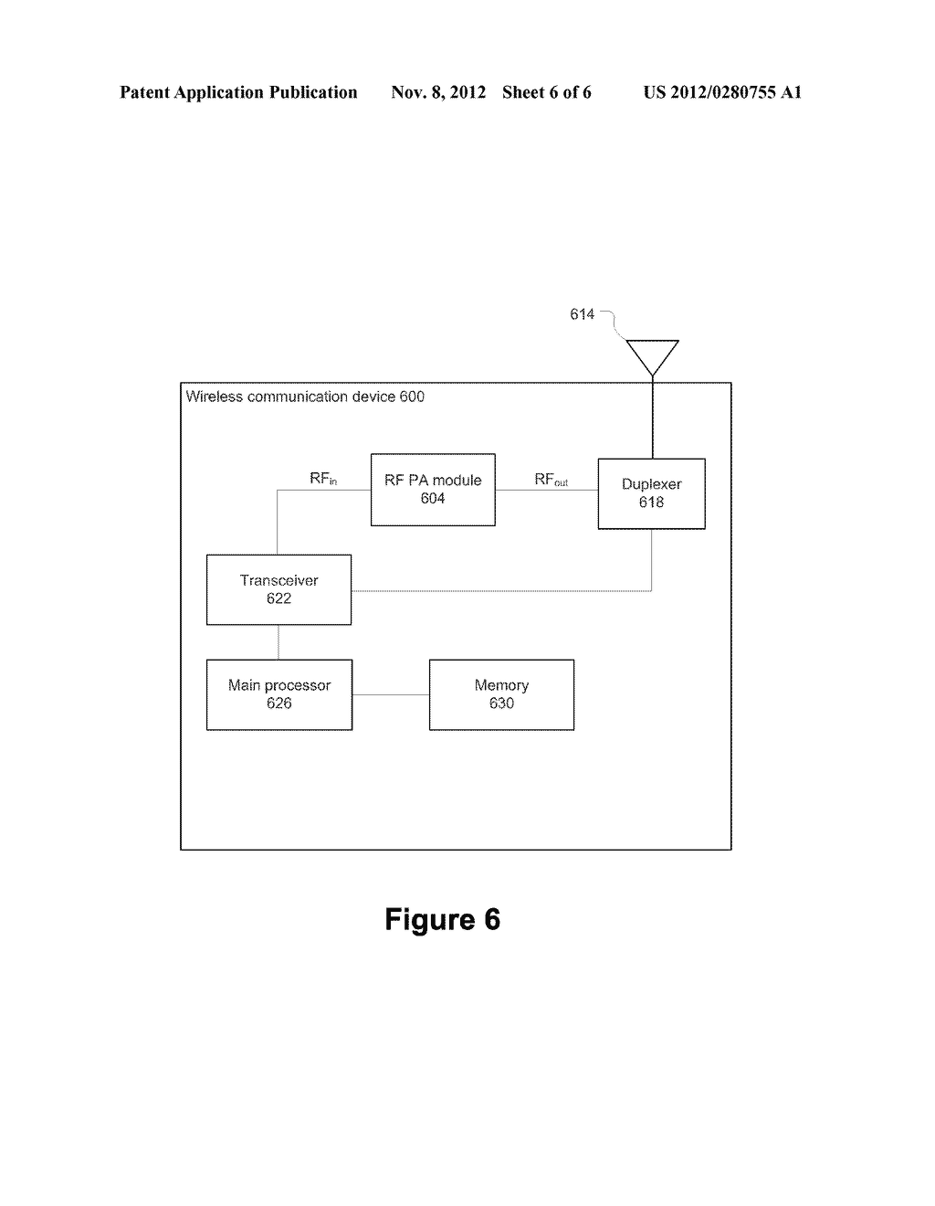 FLIP-CHIP POWER AMPLIFIER AND IMPEDANCE MATCHING NETWORK - diagram