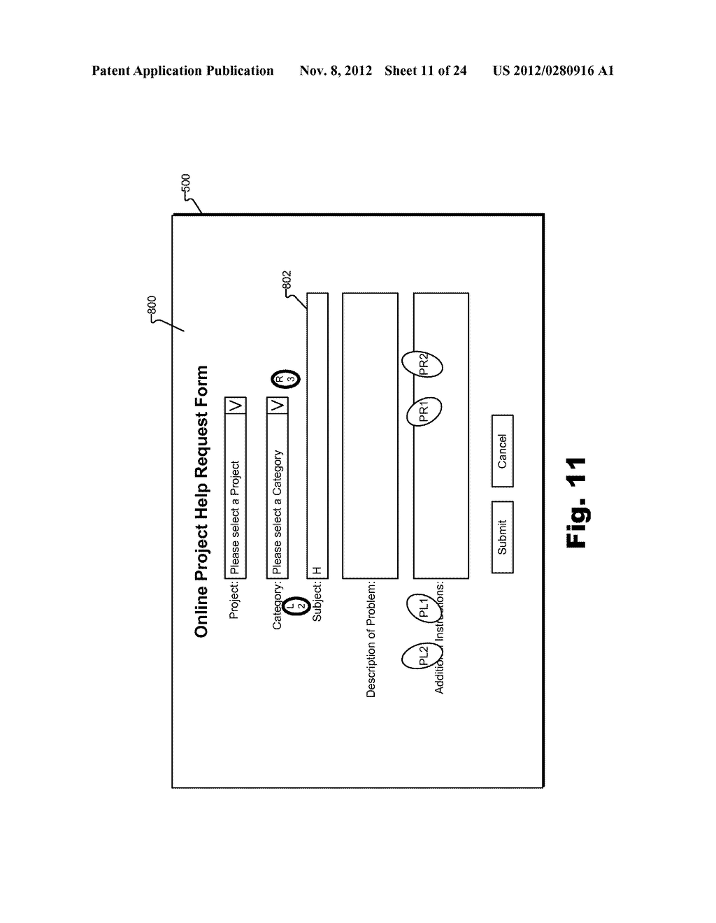 Methods and Systems for Facilitating Data Entry by Way of a Touch Screen - diagram, schematic, and image 12
