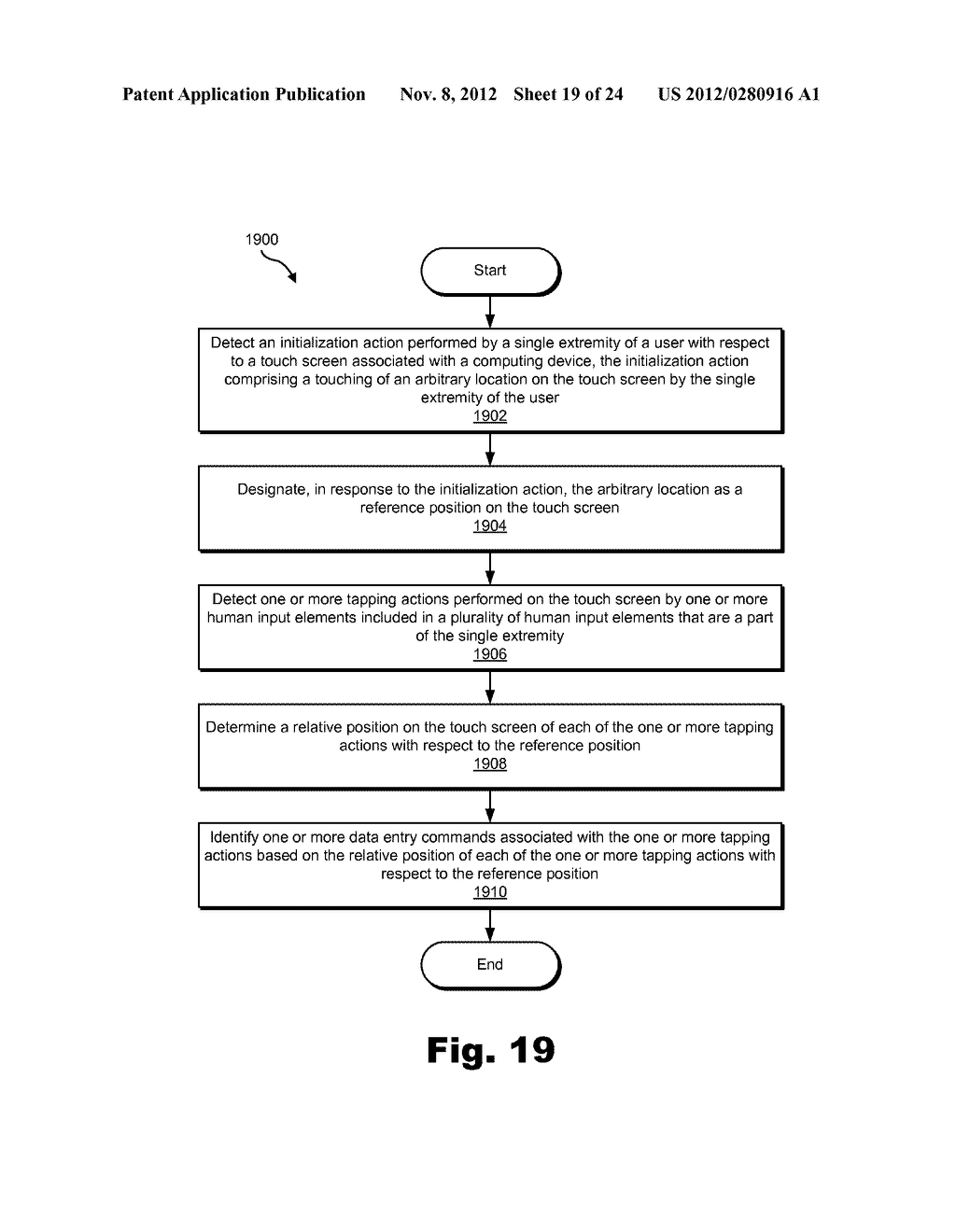 Methods and Systems for Facilitating Data Entry by Way of a Touch Screen - diagram, schematic, and image 20