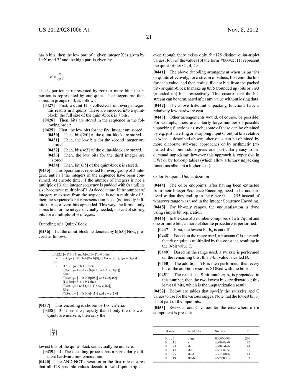 Method Of And Apparatus For Encoding And Decoding Data - diagram, schematic, and image 33