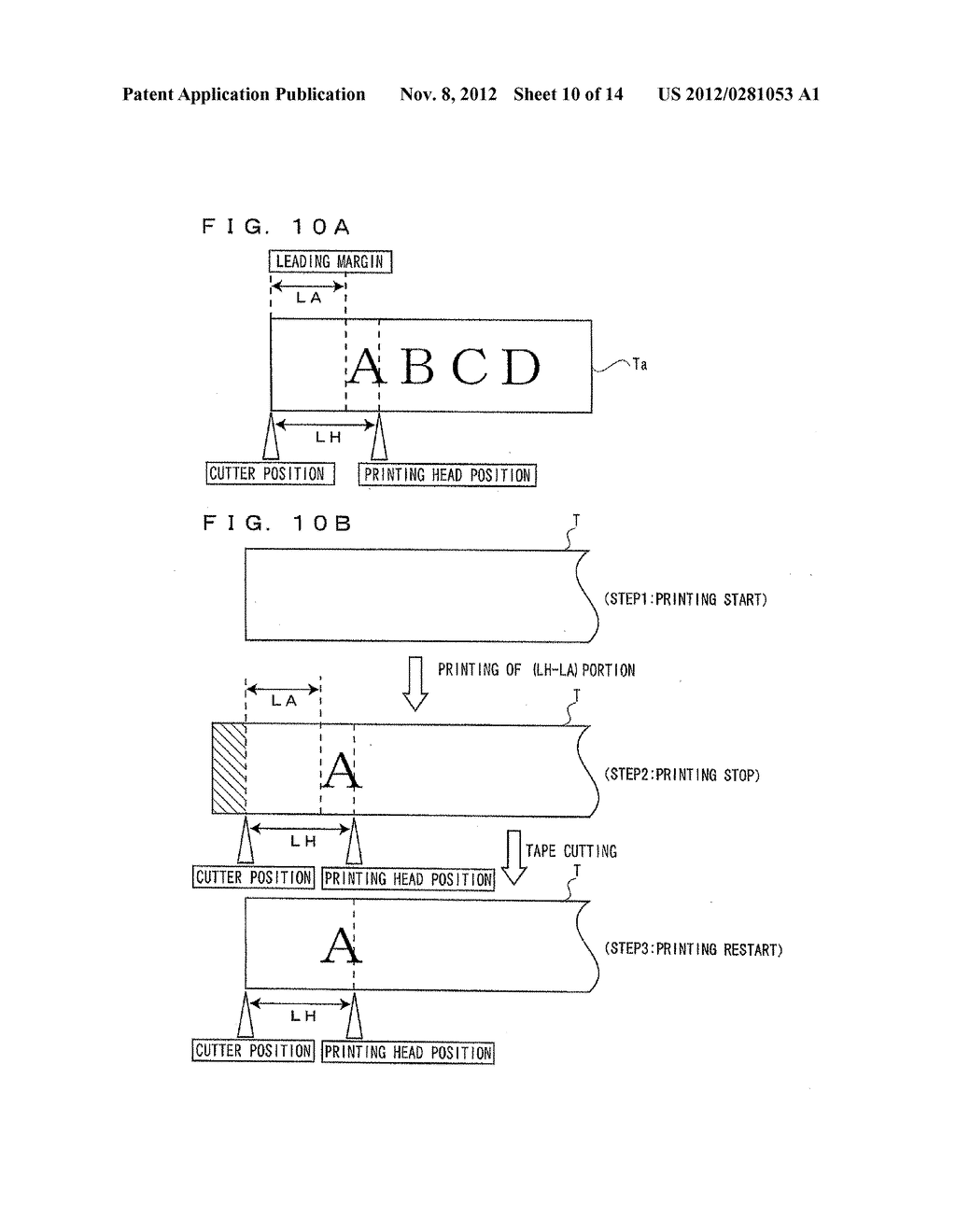 Printer, Printer Feed Drive Method, and Computer Program Therefor - diagram, schematic, and image 11