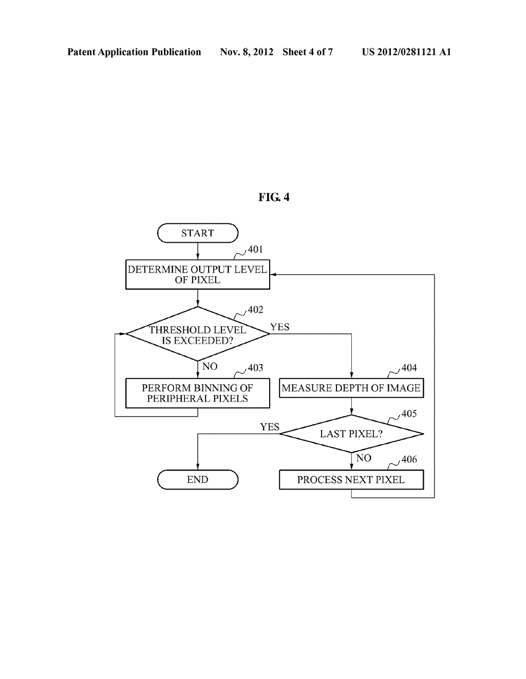 APPARATUS AND METHOD FOR SELECTIVE PIXEL BINNING - diagram, schematic, and image 05