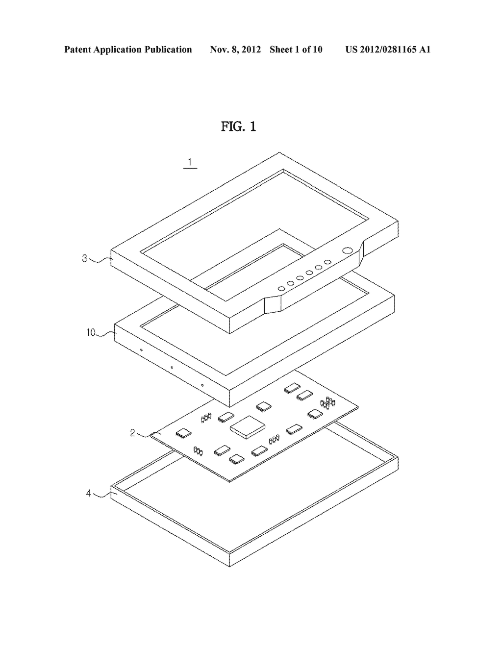 LIQUID CRYSTAL DISPLAY AND LED MODULE THEREOF - diagram, schematic, and image 02