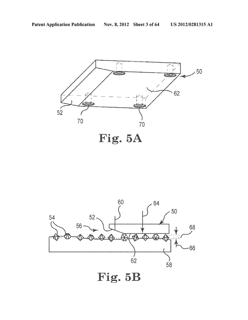 METHOD AND APPARATUS FOR PROCESSING SLIDERS FOR DISK DRIVES, AND TO     VARIOUS PROCESSING MEDIA FOR THE SAME - diagram, schematic, and image 04