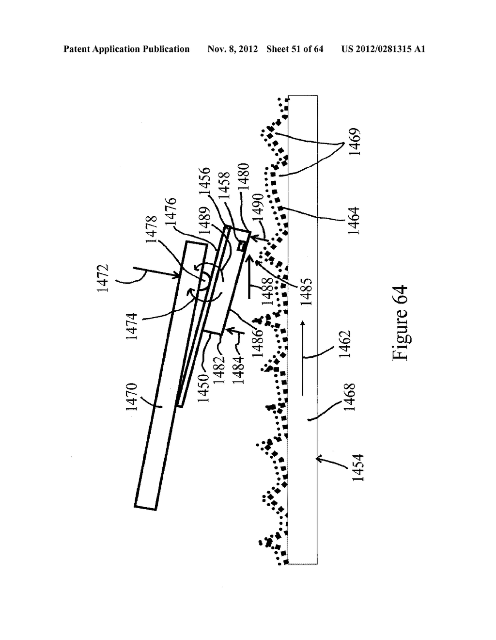 METHOD AND APPARATUS FOR PROCESSING SLIDERS FOR DISK DRIVES, AND TO     VARIOUS PROCESSING MEDIA FOR THE SAME - diagram, schematic, and image 52