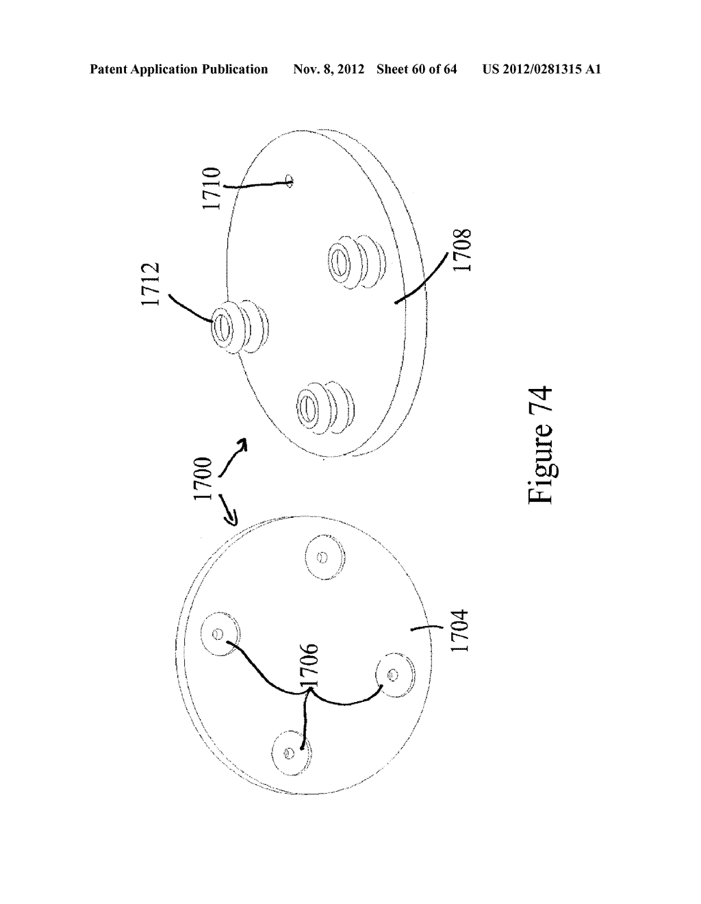 METHOD AND APPARATUS FOR PROCESSING SLIDERS FOR DISK DRIVES, AND TO     VARIOUS PROCESSING MEDIA FOR THE SAME - diagram, schematic, and image 61