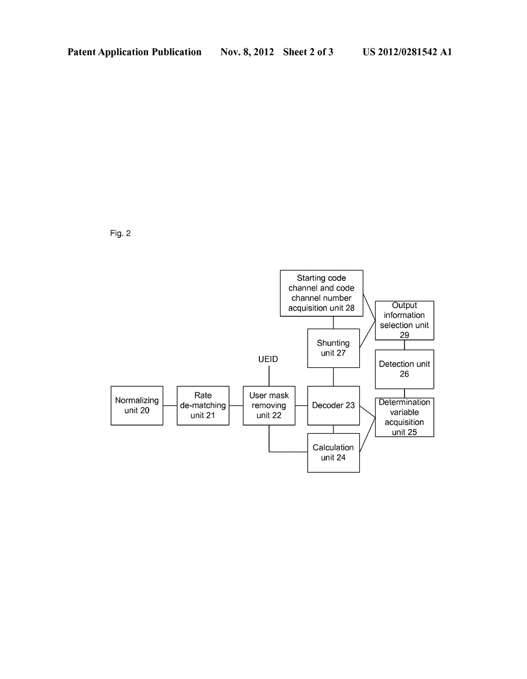 Information detection method and apparatus for high speed downlink shared     control channel - diagram, schematic, and image 03