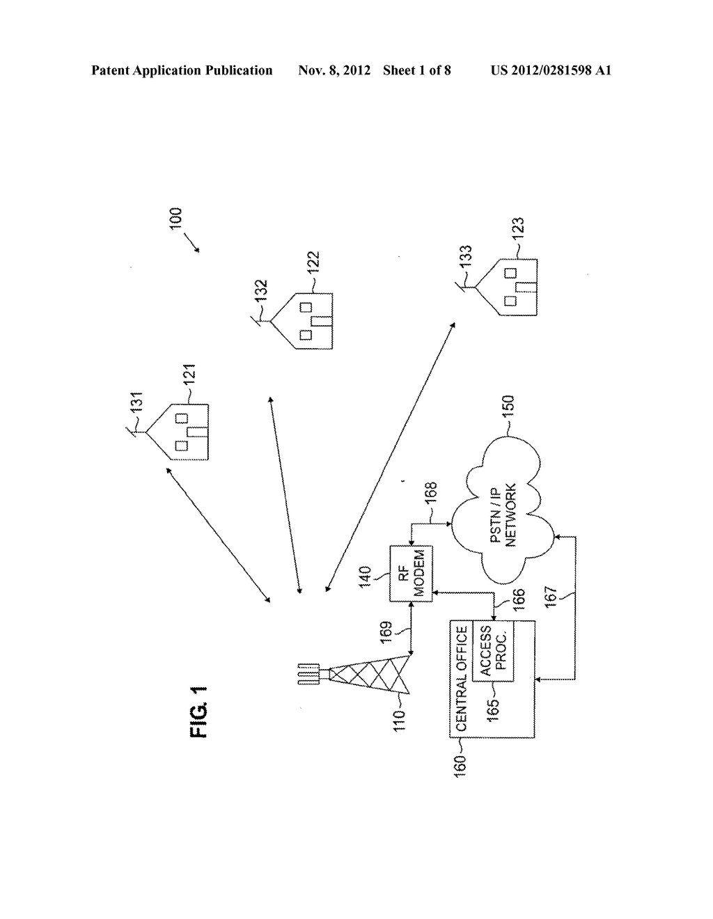 Wireless access system using multiple modulation formats in TDD frames and     method of operation - diagram, schematic, and image 02