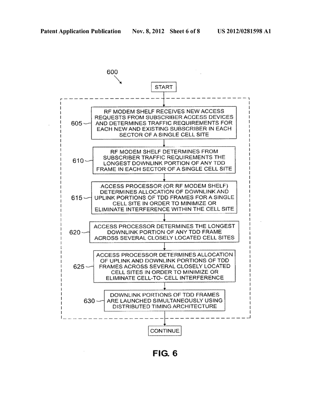 Wireless access system using multiple modulation formats in TDD frames and     method of operation - diagram, schematic, and image 07