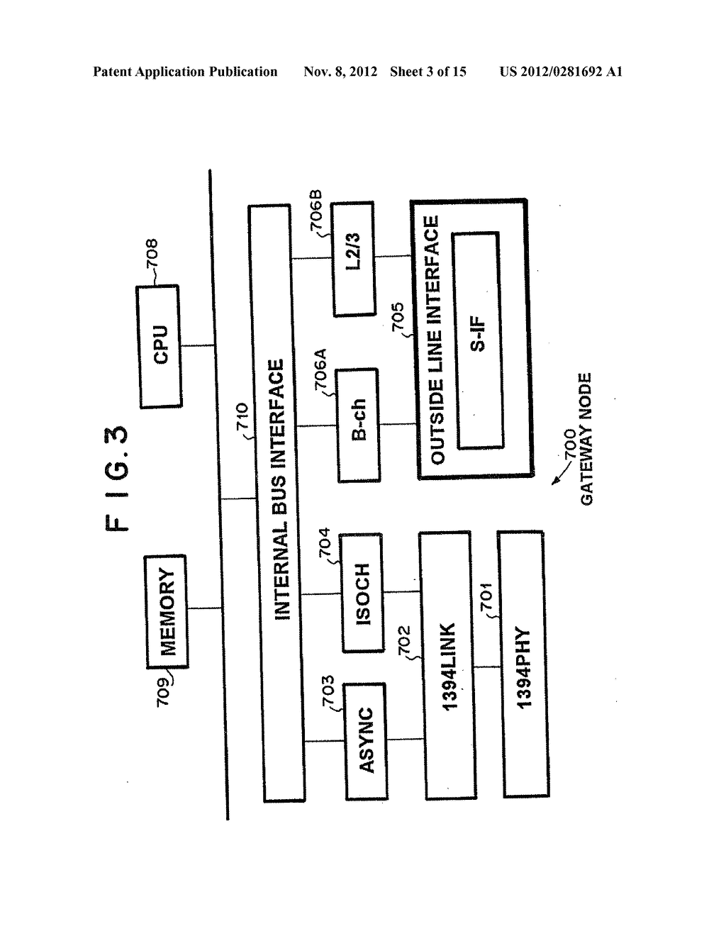 NETWORK SWITCHING SYSTEM WITH ASYNCHRONOUS AND ISOCHRONOUS INTERFACE - diagram, schematic, and image 04
