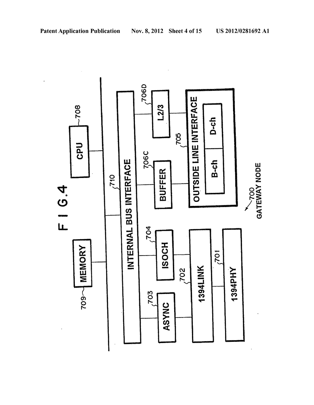 NETWORK SWITCHING SYSTEM WITH ASYNCHRONOUS AND ISOCHRONOUS INTERFACE - diagram, schematic, and image 05