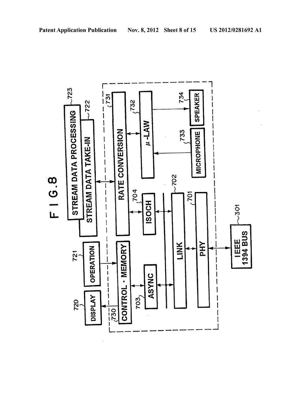 NETWORK SWITCHING SYSTEM WITH ASYNCHRONOUS AND ISOCHRONOUS INTERFACE - diagram, schematic, and image 09