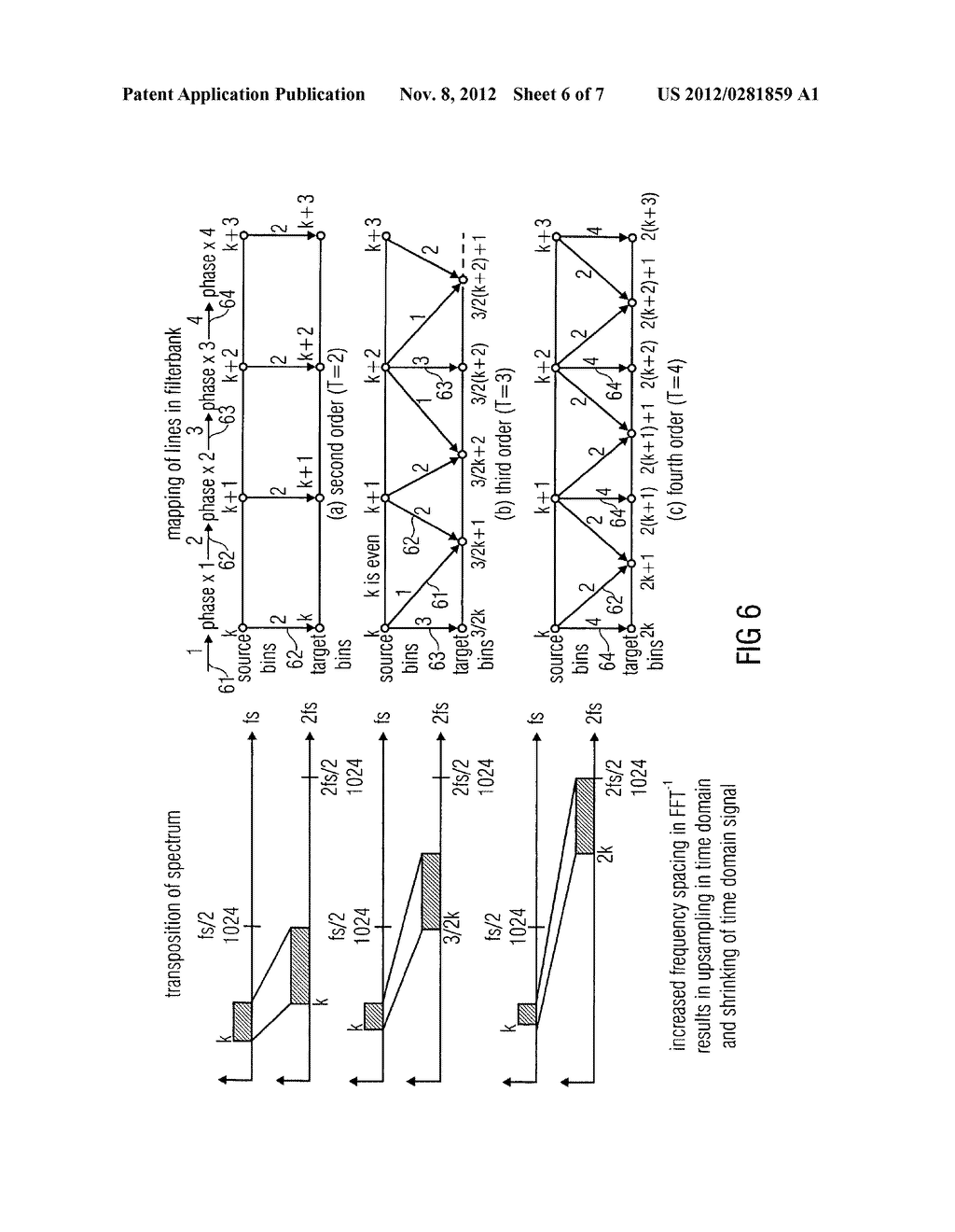 APPARATUS AND METHOD FOR GENERATING A HIGH FREQUENCY AUDIO SIGNAL USING     ADAPTIVE OVERSAMPLING - diagram, schematic, and image 07