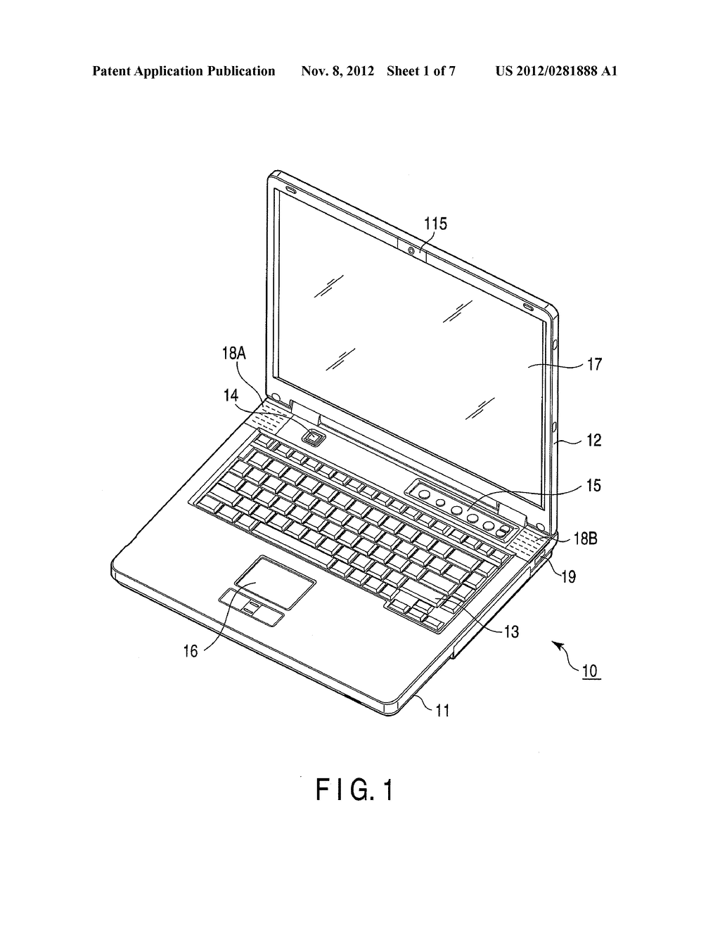 ELECTRONIC APPARATUS AND IMAGE DISPLAY METHOD - diagram, schematic, and image 02