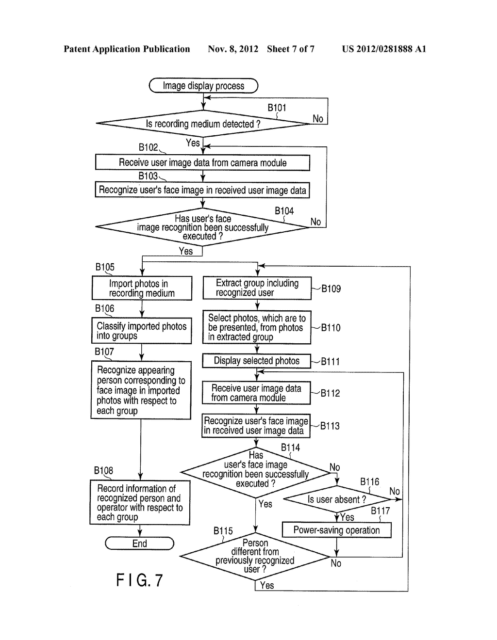 ELECTRONIC APPARATUS AND IMAGE DISPLAY METHOD - diagram, schematic, and image 08