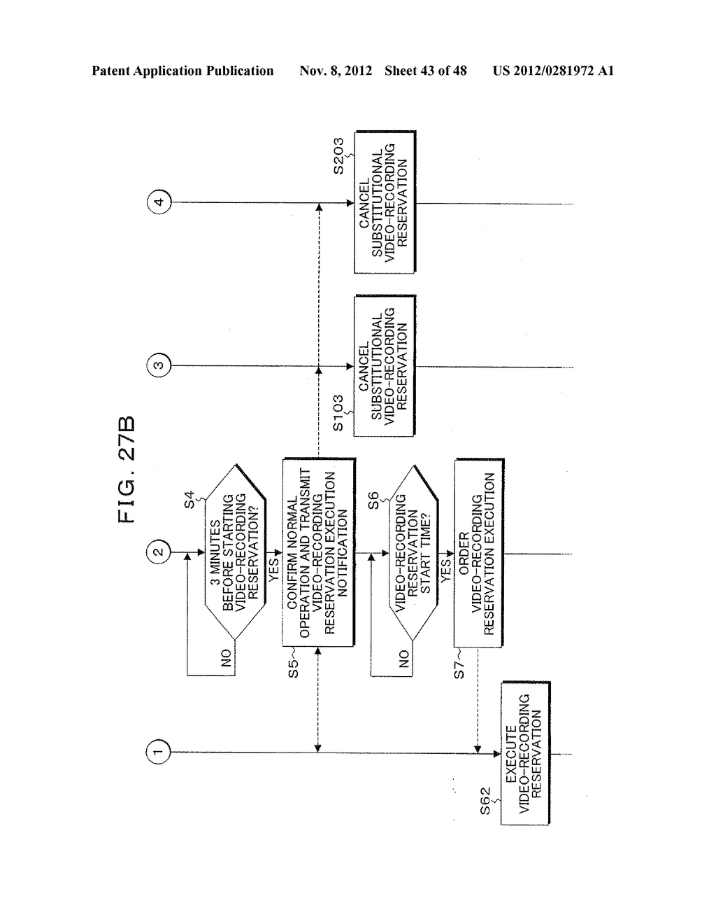 VIDEO-RECORDING RESERVATION MANAGEMENT APPARATUS, METHOD, PROGRAM, AND     SYSTEM - diagram, schematic, and image 44