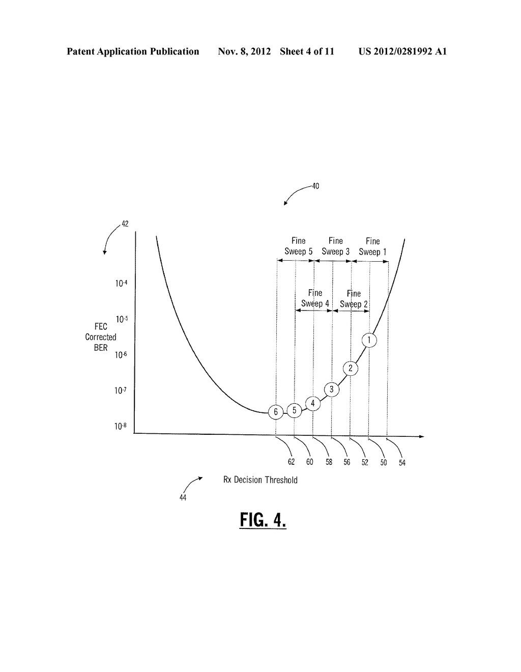 SYSTEMS AND METHODS FOR OPTICAL RECEIVER DECISION THRESHOLD OPTIMIZATION - diagram, schematic, and image 05