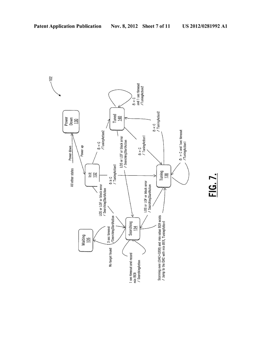 SYSTEMS AND METHODS FOR OPTICAL RECEIVER DECISION THRESHOLD OPTIMIZATION - diagram, schematic, and image 08