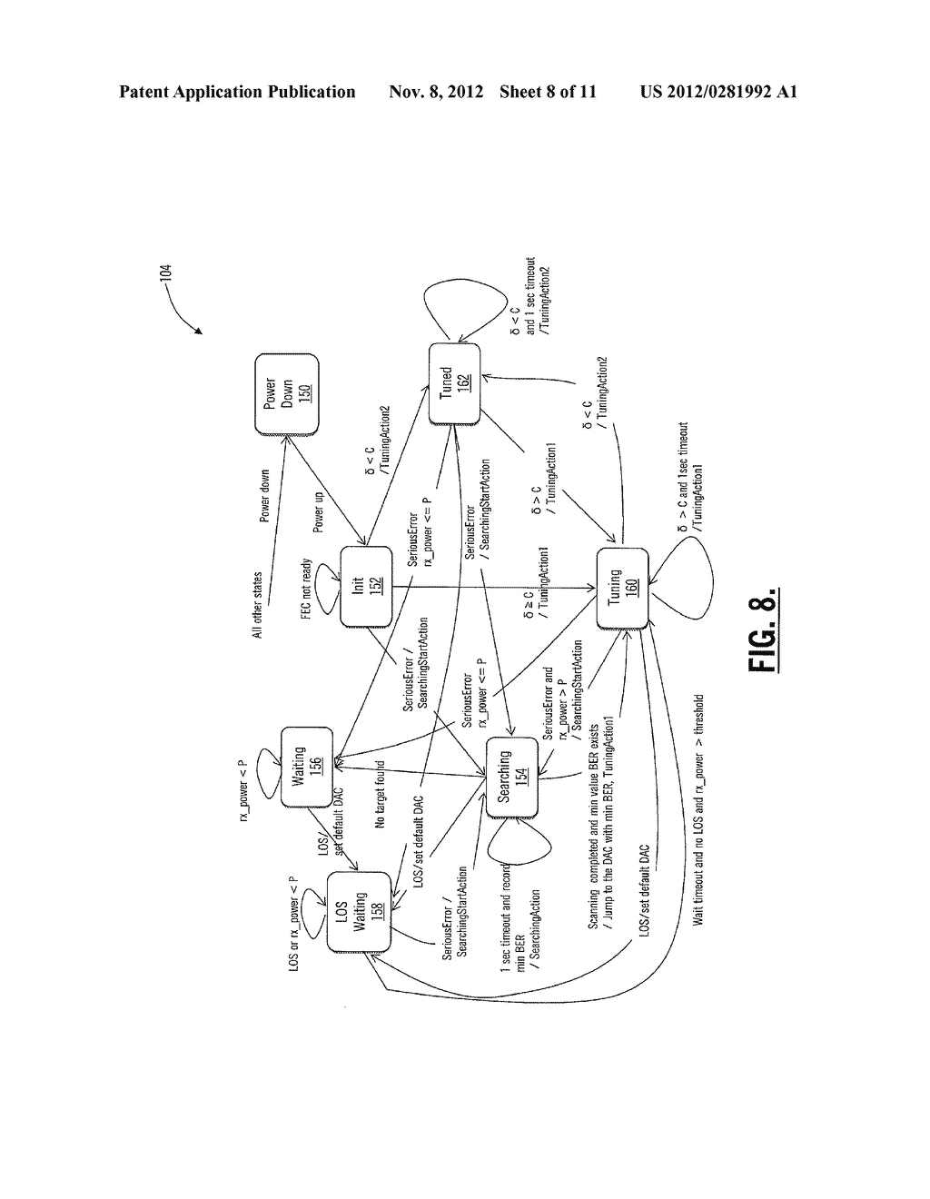 SYSTEMS AND METHODS FOR OPTICAL RECEIVER DECISION THRESHOLD OPTIMIZATION - diagram, schematic, and image 09