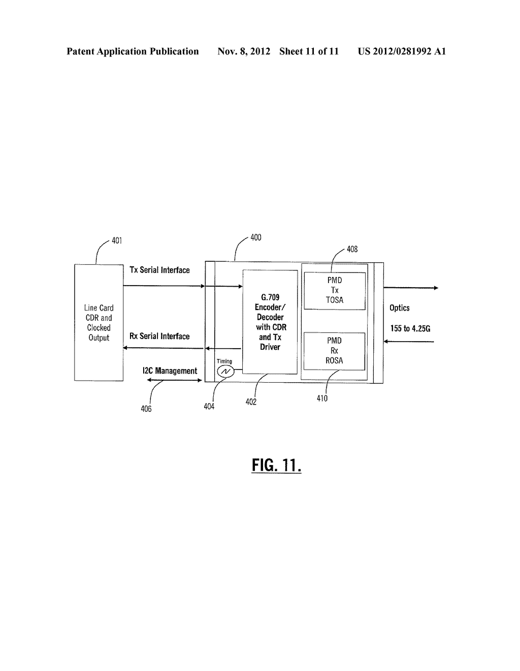 SYSTEMS AND METHODS FOR OPTICAL RECEIVER DECISION THRESHOLD OPTIMIZATION - diagram, schematic, and image 12