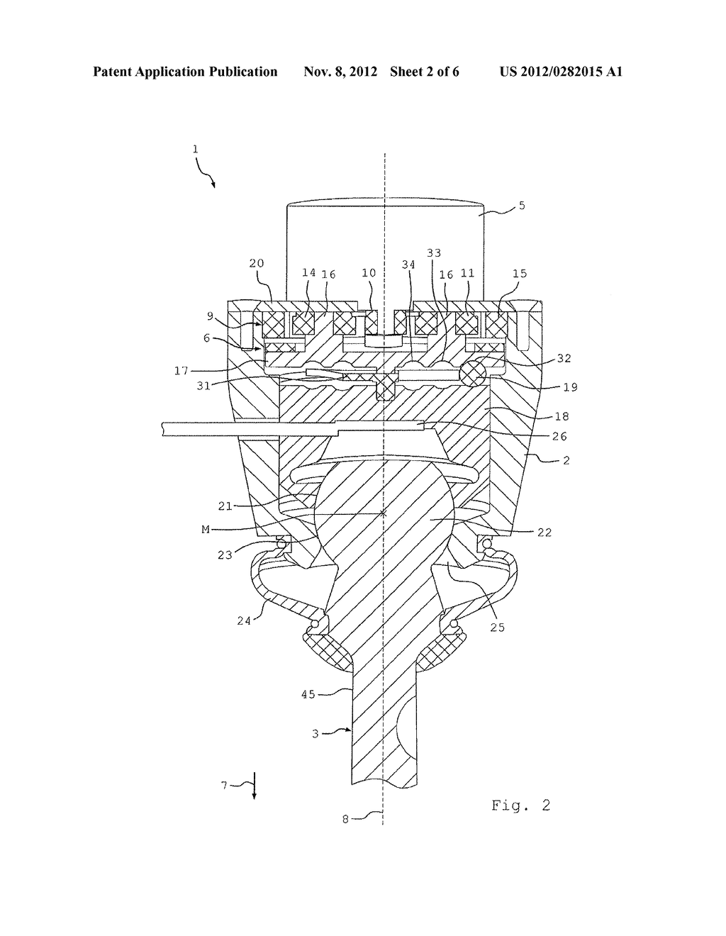BALL AND SOCKET JOINT FOR A VEHICLE - diagram, schematic, and image 03