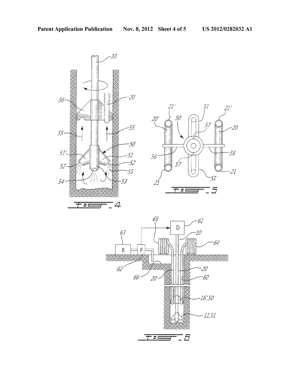 GEOTHERMAL FLEXIBLE CONDUIT LOOP SINGLE PASS INSTALLATION SYSTEM FOR DENSE     SOILS AND ROCK - diagram, schematic, and image 05