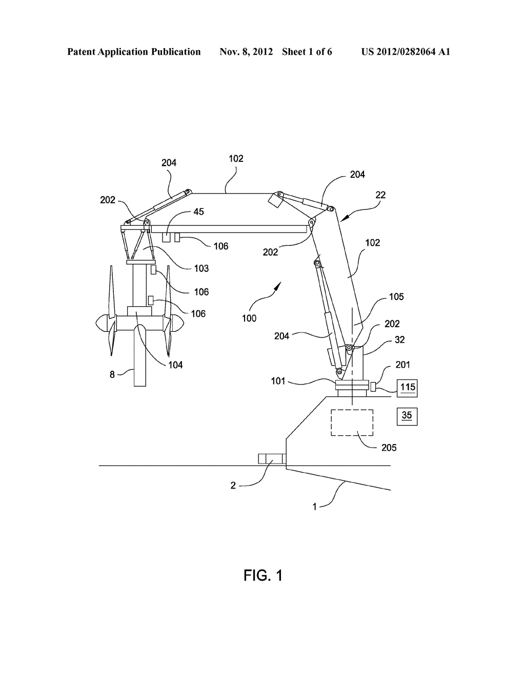 APPARATUS AND METHODS OF POSITIONING A SUBSEA OBJECT - diagram, schematic, and image 02