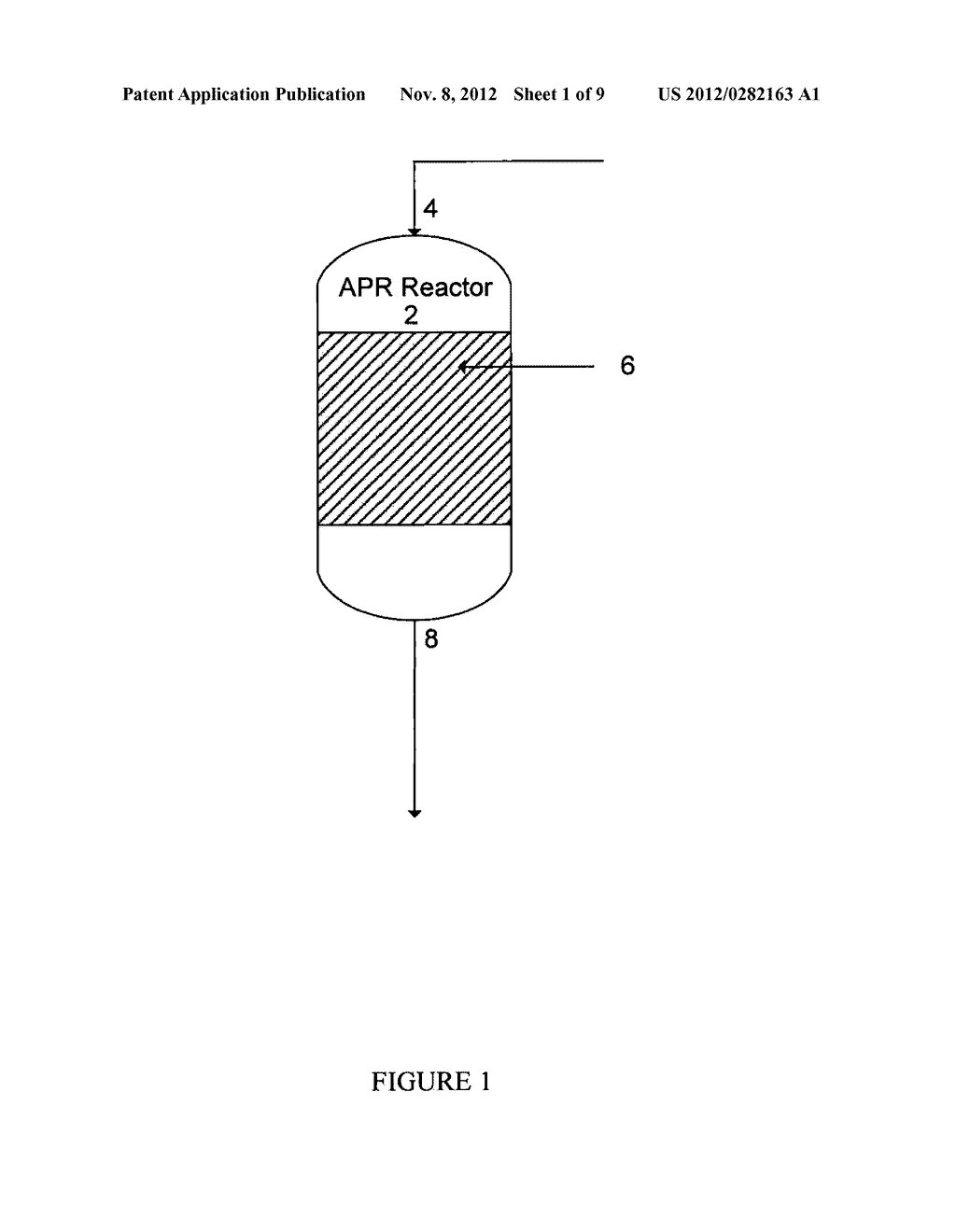 Method of Producing Gaseous Products Using a Downflow Reactor - diagram, schematic, and image 02