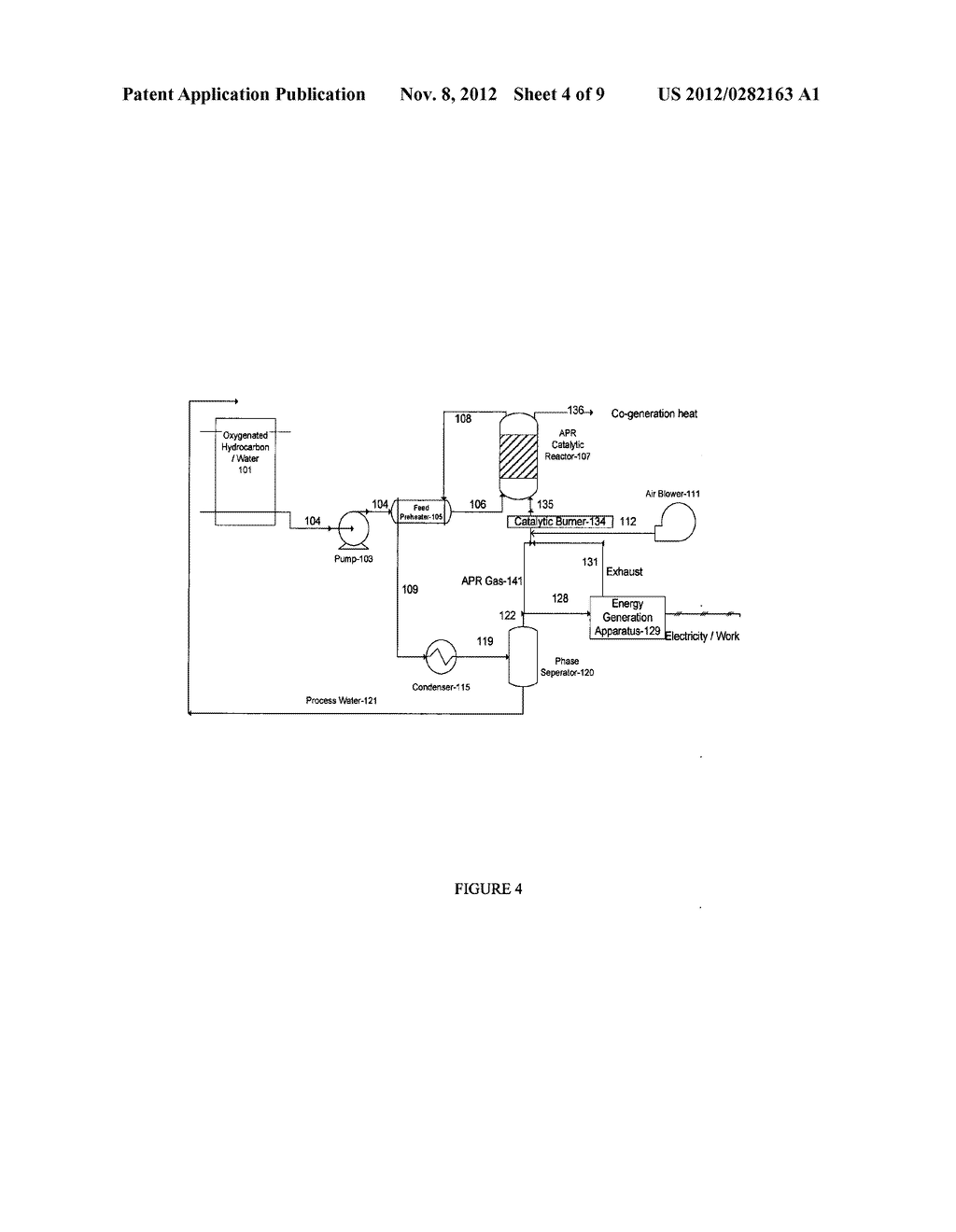 Method of Producing Gaseous Products Using a Downflow Reactor - diagram, schematic, and image 05
