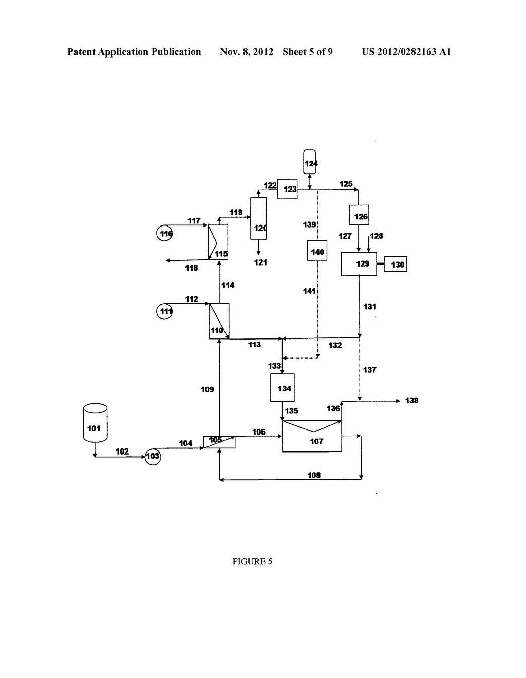 Method of Producing Gaseous Products Using a Downflow Reactor - diagram, schematic, and image 06