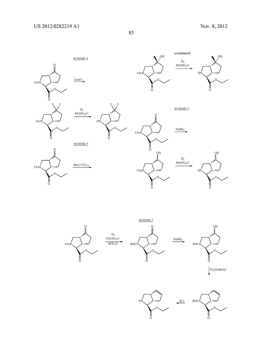 PEPTIDOMIMETIC PROTEASE INHIBITORS - diagram, schematic, and image 100