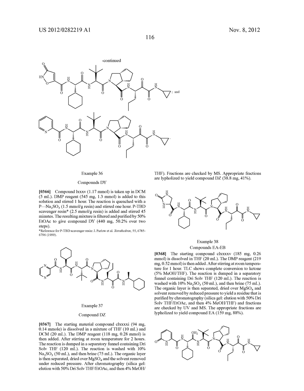 PEPTIDOMIMETIC PROTEASE INHIBITORS - diagram, schematic, and image 131