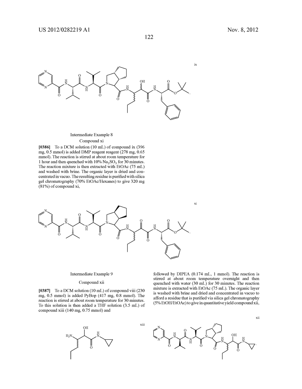 PEPTIDOMIMETIC PROTEASE INHIBITORS - diagram, schematic, and image 137
