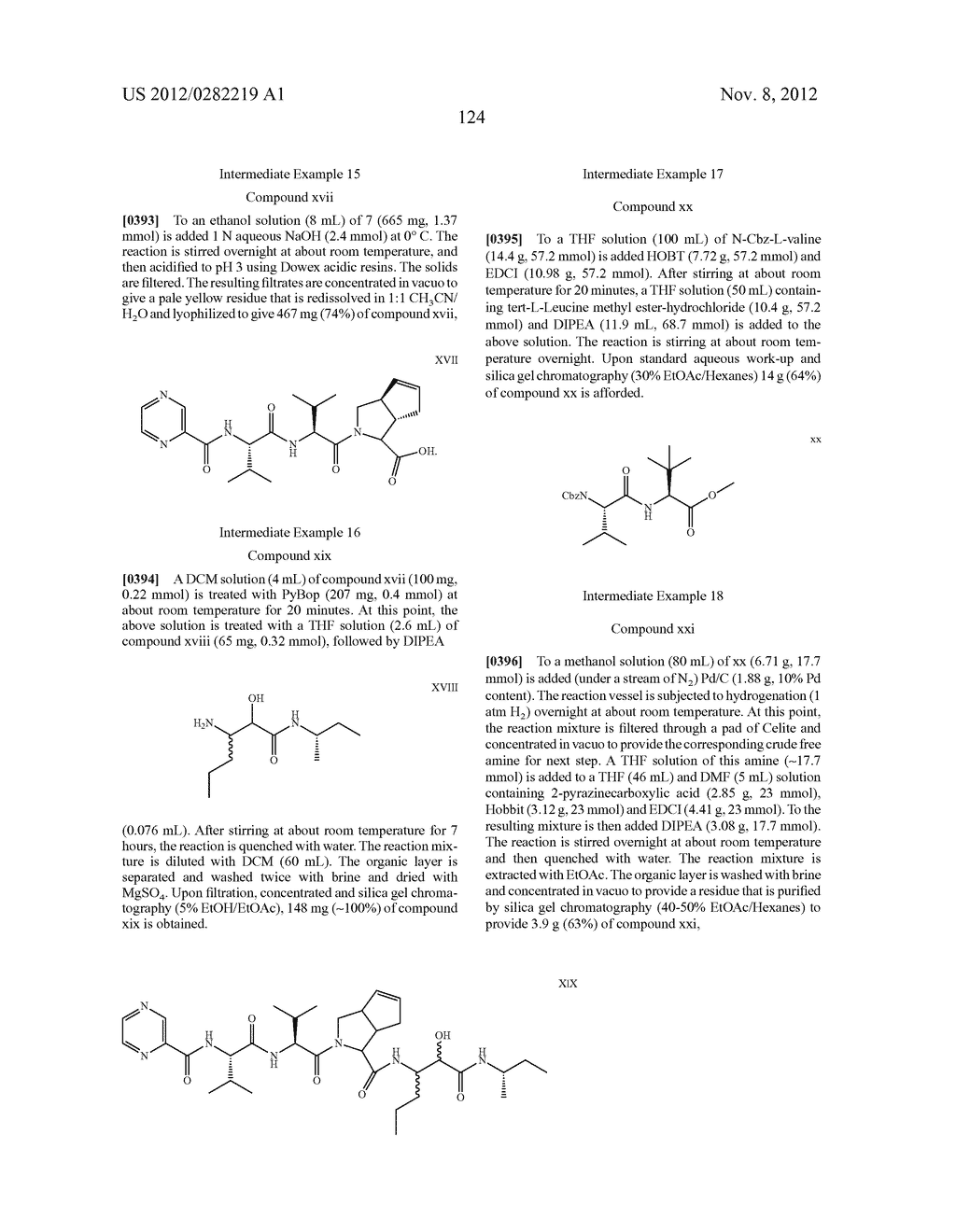PEPTIDOMIMETIC PROTEASE INHIBITORS - diagram, schematic, and image 139