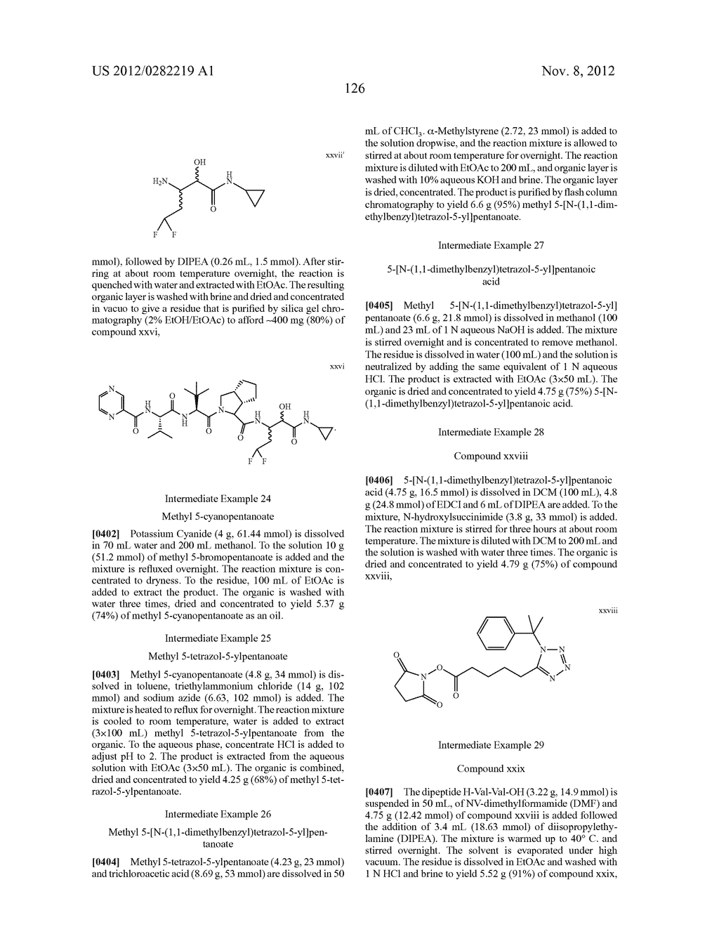 PEPTIDOMIMETIC PROTEASE INHIBITORS - diagram, schematic, and image 141