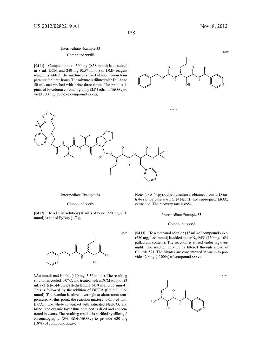 PEPTIDOMIMETIC PROTEASE INHIBITORS - diagram, schematic, and image 143