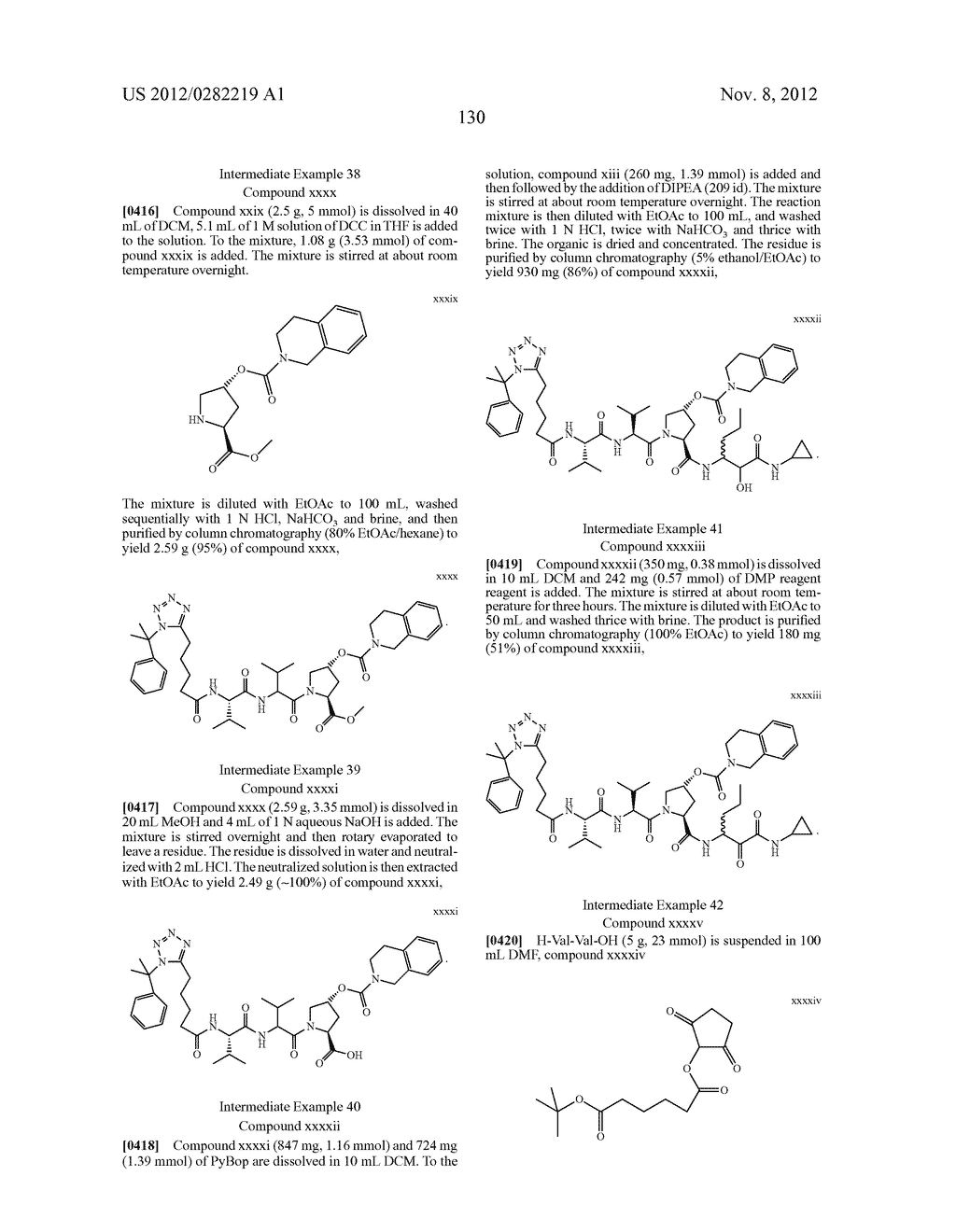 PEPTIDOMIMETIC PROTEASE INHIBITORS - diagram, schematic, and image 145